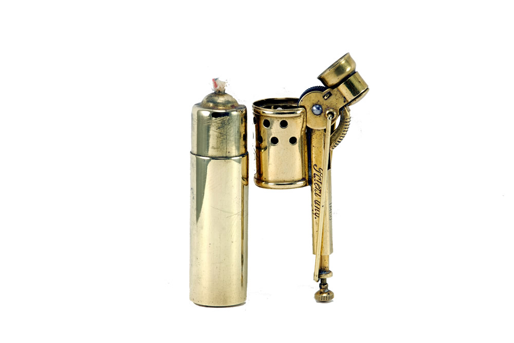 vintage imco brass 1930 2200 cigarette lighter 3