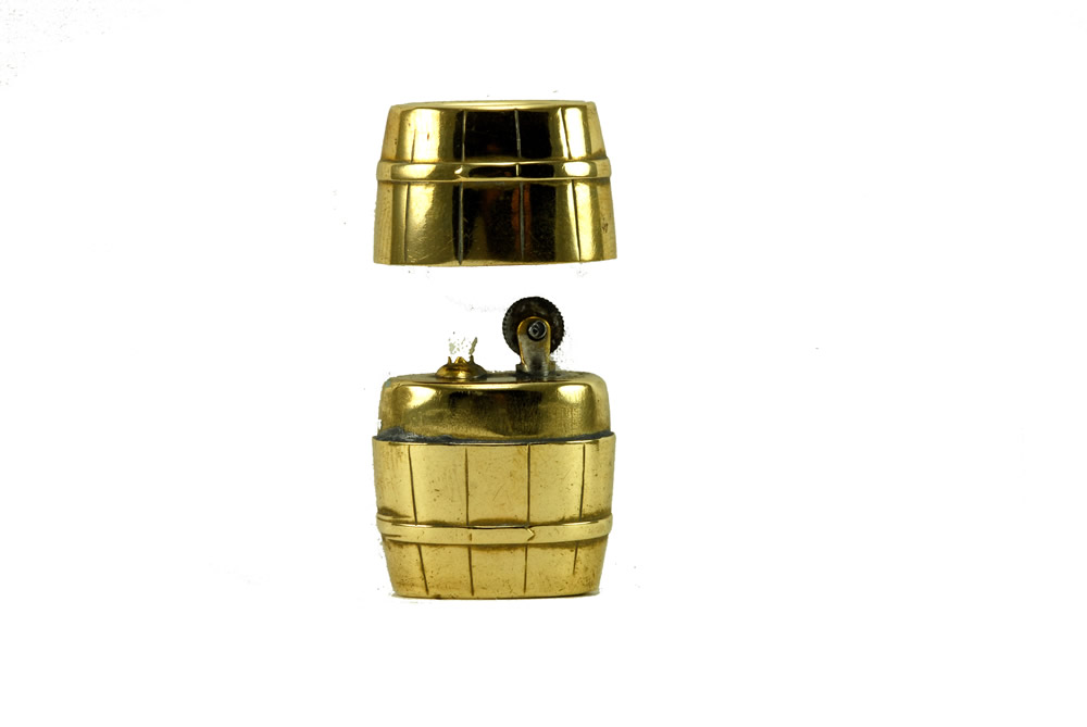 vintage imco brass barrel 1934 3500 cigarette lighter 2