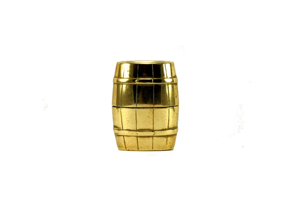 vintage imco brass barrel 1934 3500 cigarette lighter 1
